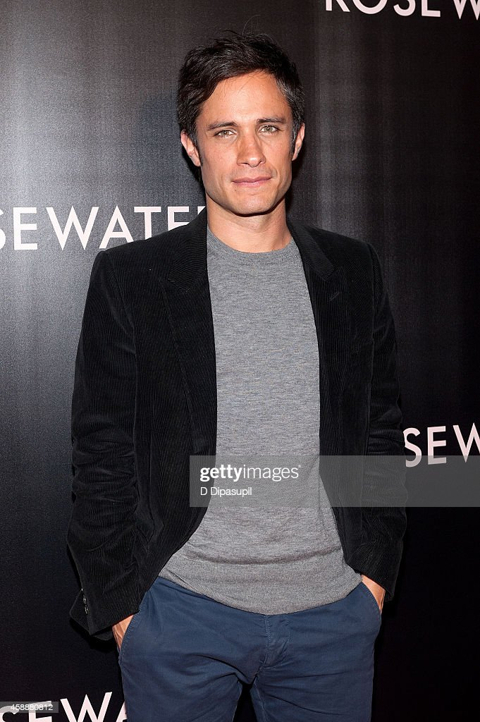 Gael Garcia Bernal attends the 'Rosewater' New York Premiere at AMC Lincoln Square Theater on November 12, 2014 in New York City.