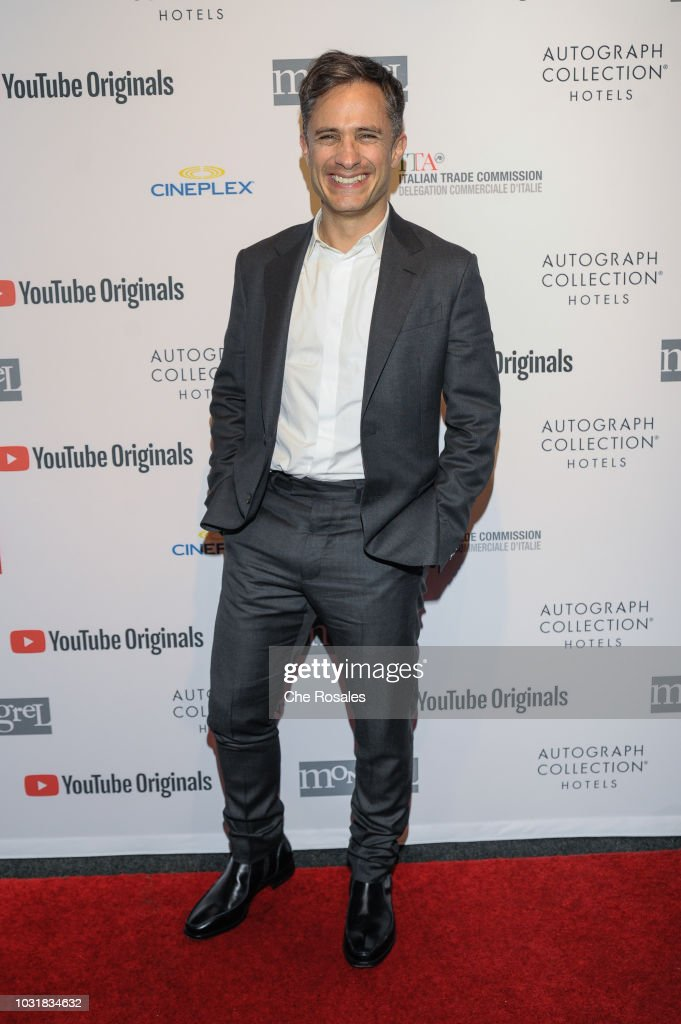 Gael Garcia Bernal attends the YouTube Originals In Partnership With Mongrel Media At Mongrel House on September 11, 2018 in Toronto, Canada.