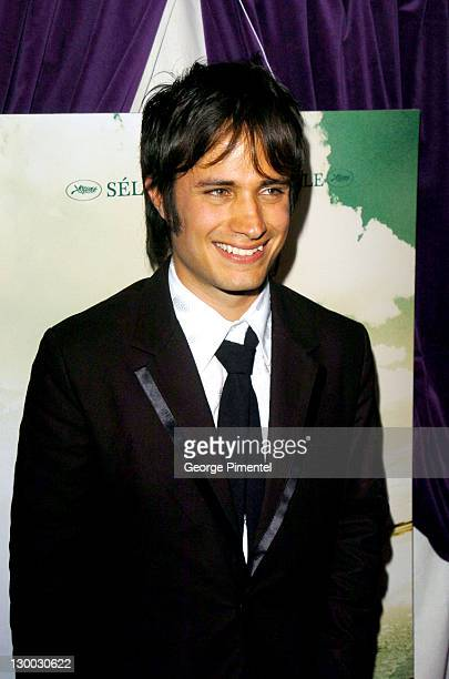 Gael Garcia Bernal during 2004 Cannes Film Festival Motorcycle Diaries Party at La Plage Coste in Cannes France