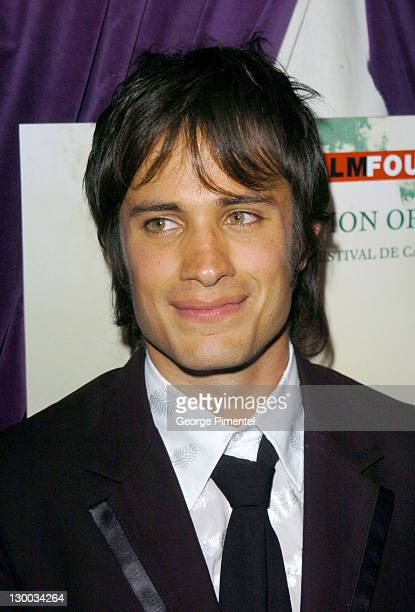Gael Garcia Bernal during 2004 Cannes Film Festival 'Motorcycle Diaries' Party at La Plage Coste in Cannes France