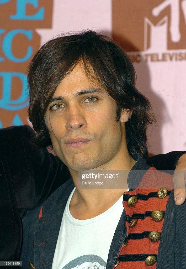 Gael Garcia Bernal during 2005 MTV European Music Awards Lisbon - Press Room at Atlantic Pavillion in Lisbon, Portugal.