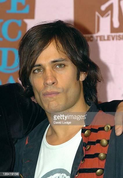 Gael Garcia Bernal during 2005 MTV European Music Awards Lisbon Press Room at Atlantic Pavillion in Lisbon Portugal
