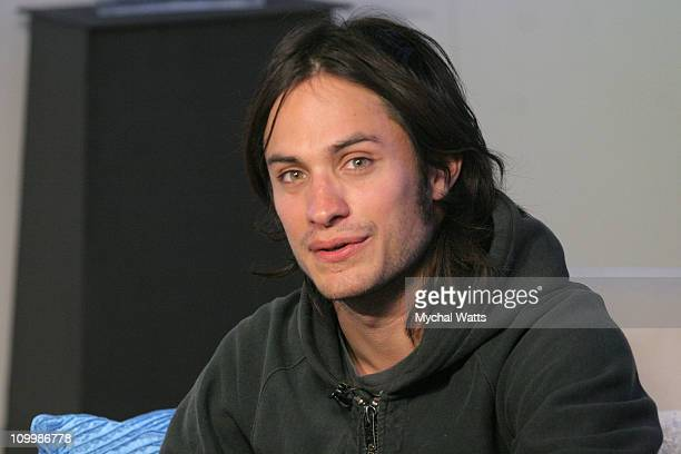 Gael Garcia Bernal during 2006 Park City Philips Lounge at Village at the Lift Day 5 at Village at the Lift in Park City Utah