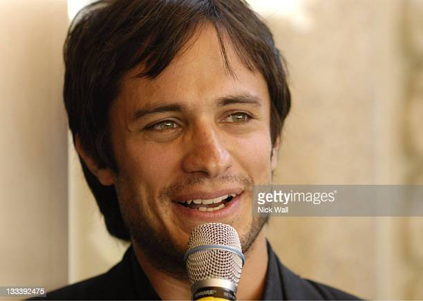 Gael Garcia Bernal during 2007 Cannes Film Festival Focus' Cha Cha Cha Cocktail Party at Carlton la Cote in Cannes France