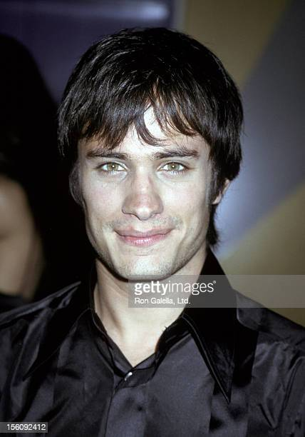 Gael Garcia Bernal during 'Amores Perros' Premiere at Galaxy Theatre in Hollywood California United States