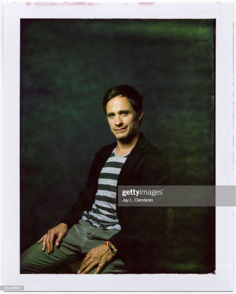 Gael Garcia Bernal from the film, 'If You Saw His Heart,' is photographed on polaroid film at the L.A. Times HQ at the 42nd Toronto International Film Festival, in Toronto, Ontario, Canada, on September 12, 2017.