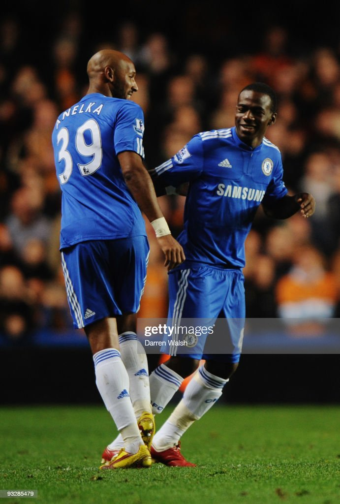 Gael Kakuta of Chelsea makes his debut during the Barclays Premiership match between Chelsea and Wolverhampton Wanderers at Stamford Bridge on November 21, 2009 in London, England.