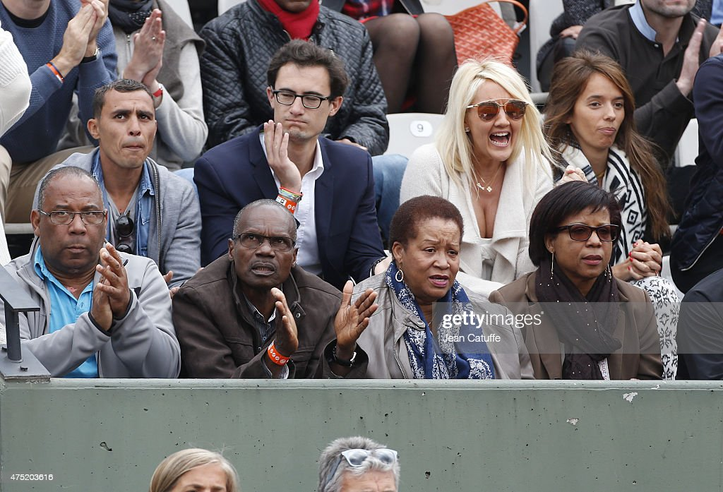 Celebrities At French Open 2015 - Day Six : News Photo
