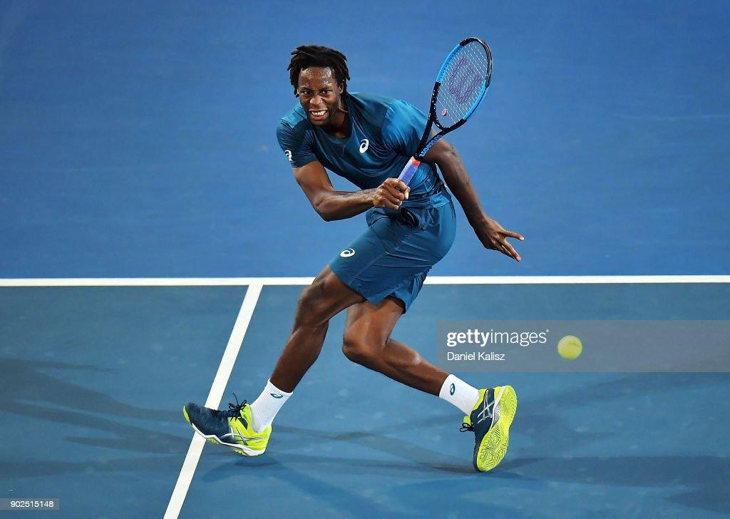 2018 World Tennis Challenge - Day 1 : ニュース写真