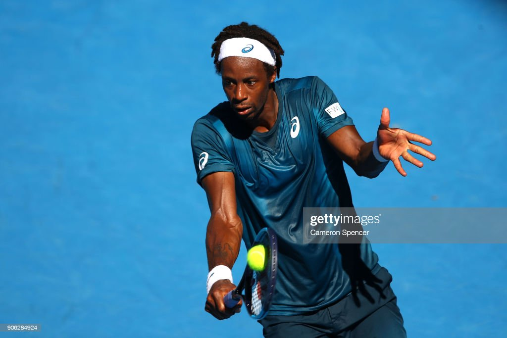 2018 Australian Open - Day 4 : News Photo