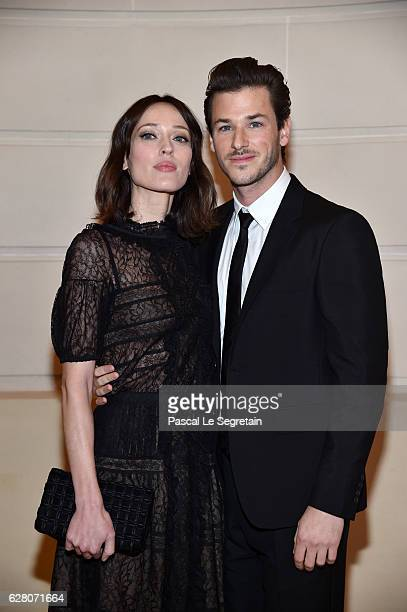 Gaelle Pietri and Gaspard Ulliel attend Chanel Collection des Metiers d'Art 2016/17 Paris Cosmopolite Show on December 6 2016 in Paris France