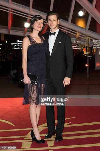 Gaelle Pietri and Gaspard Ulliel attend the Award Ceremony of the 13th Marrakech International Film Festival on December 7 2013 in Marrakech Morocco