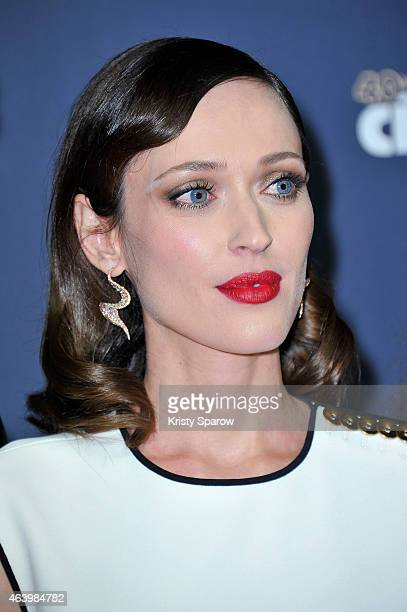 Gaelle Pietri attends the 40th Cesar Film Awards at Theatre du Chatelet on February 20 2015 in Paris France