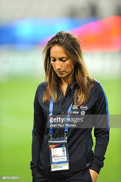 Gaetane THINEY of France during the International friendly match between France women and Brazil women on September 16 2016 in Grenoble France