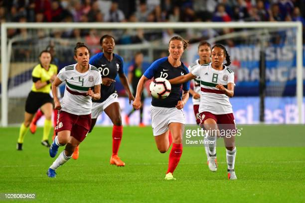 Gaetane Thiney of France during the Women's friendly international match between France and Mexico on September 1 2018 in Amiens France