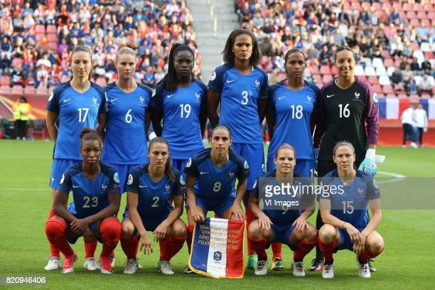 Gaetane Thiney of France women Amandine Henry of France women Griedge Mbock Bathy Nka of France women Wendie Renard of France women MarieLaure Delie...