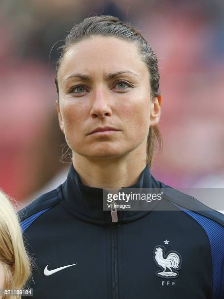 Gaetane Thiney of France women during the UEFA WEURO 2017 Group C group stage match between France and Austria at the Galgenwaard Stadium on July 22...