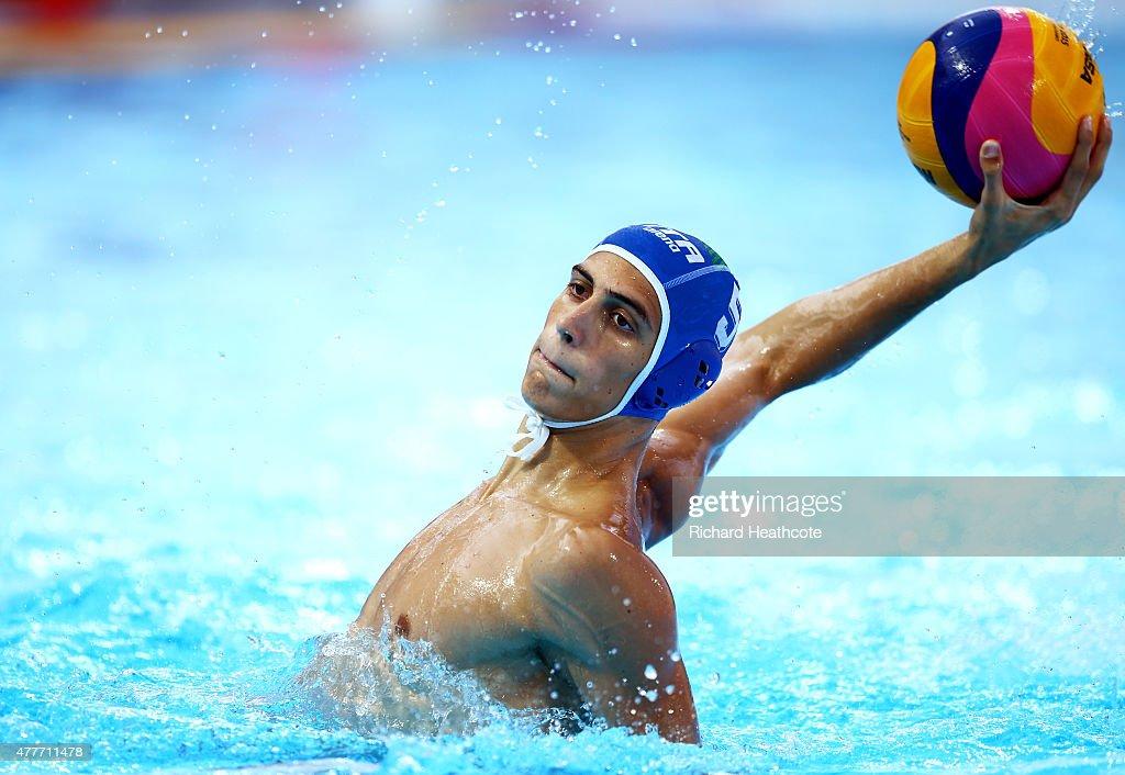 Water Polo - Day 7: Baku 2015 - 1st European Games : News Photo