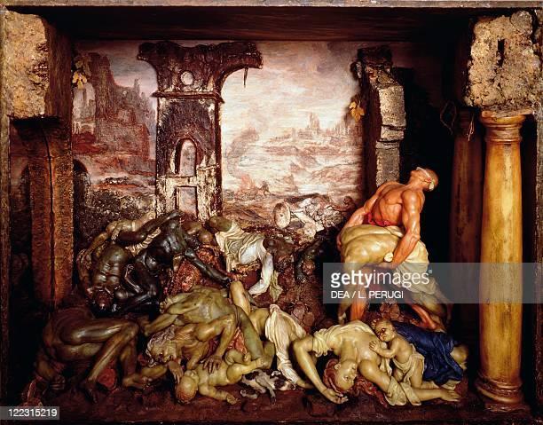 Gaetano Giulio Zumbo or Zummo The Plague wax sculpture