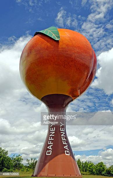 gaffney sc peach water tower - greenville south carolina stock pictures, royalty-free photos & images