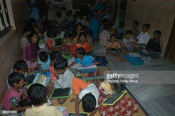 Gagandeep Singh Bedi Collector of Cuddalore at the Orphanage which has been started for the Children lost their Parents in Tsunami at Cuddalore