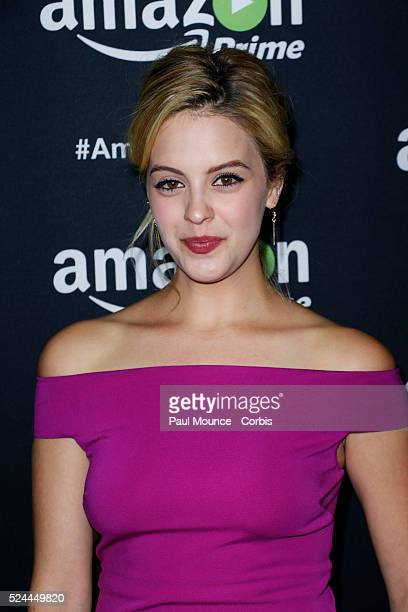 Gage Golightly arrives on the red carpet at the Amazon Studios afterparty celebrating the 67th Annual Primetime Emmy Awards