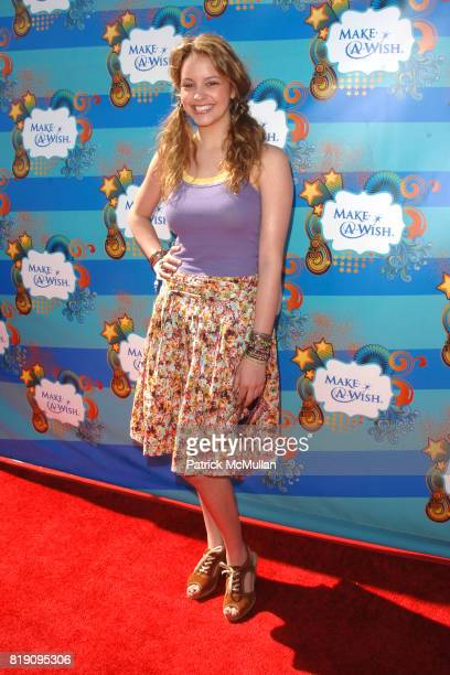Gage Golightly attends Kevin Steffiana James And MakeAWish Foundation Host A Day Of Fun at Santa Monica Pier on March 14 2010 in Santa Monica...
