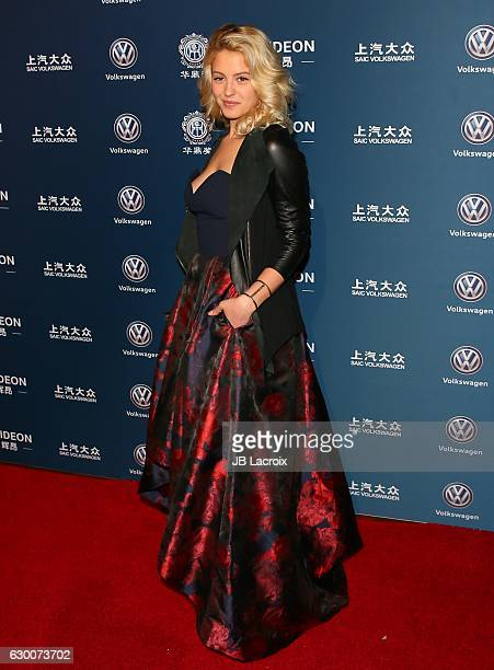 Gage Golightly attends the 21st Annual Huading Global Film Awards on December 15 2016 in Los Angeles California