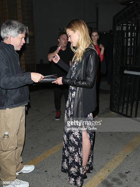 Gage Golightly is seen on February 12 2016 in Los Angeles California
