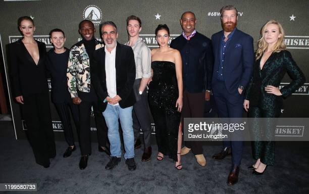 Gage Golightly Nicholas Coombe Jeremy Tardy Roberto Benabib Sam Keeley Cristina Rodlo Lamont Thompson Derek Theler and Beth Riesgraf attend the...
