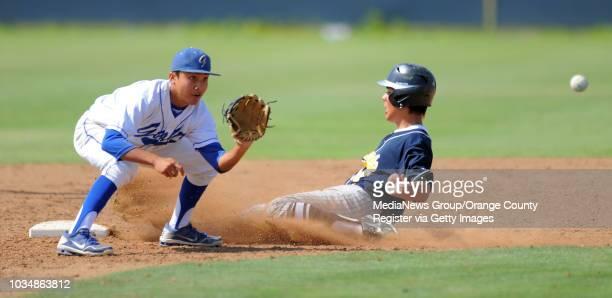 CERRITOS Gahr's baseball team beat Warren 62 Thursday at Gahr Warren's Josh Carrasco steals 2B ahead of the throw to Jaime Estrada