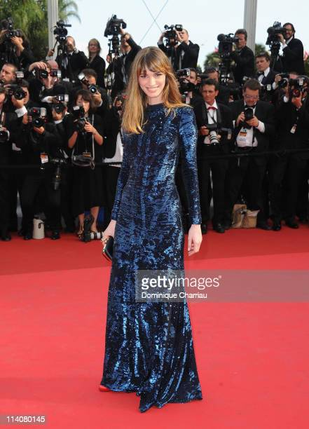 Gaia Bermani Amaral as she attends the Opening Ceremony and 'Midnight In Paris' Premiere at the Palais des Festivals during the 64th Cannes Film...