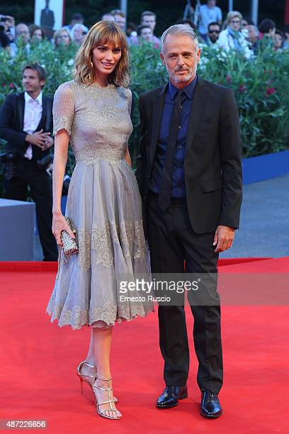 Gaia Bermani Amaral attends a premiere for 'Rabin The Last Day' during the 72nd Venice Film Festival at Palazzo del Casino on September 7 2015 in...