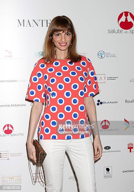 Gaia Bermani Amaral attends 'Dee Di Vita' Presentation at Triennale di Milano on May 9 2016 in Milan Italy