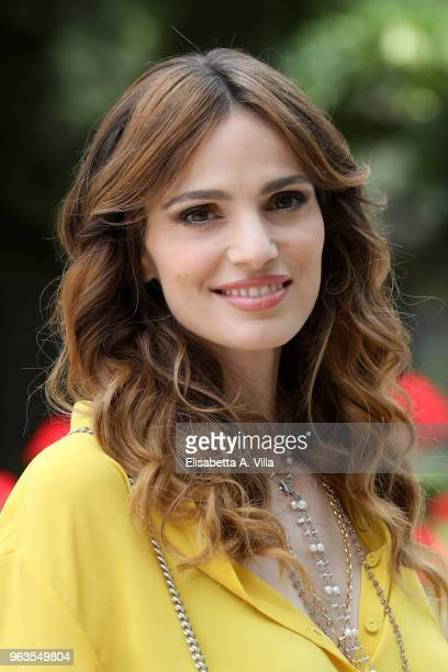 Gaia Bermani Amaral attends 'Malati Di Sesso' photocall at Villa Borghese on May 29 2018 in Rome Italy