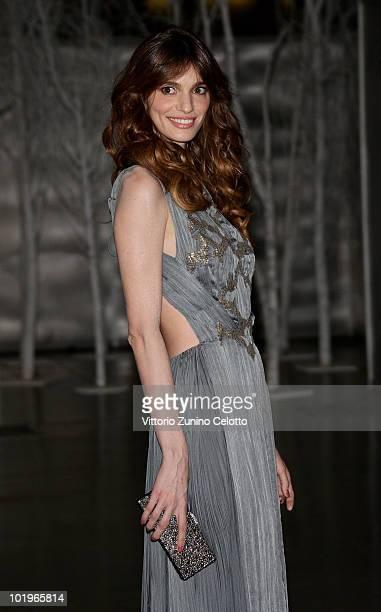 Gaia Bermani Amaral attends the 2010 Convivio held at Fiera Milano City on June 10 2010 in Milan Italy