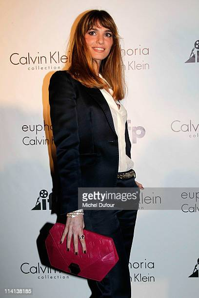 Gaia Bermani Amaral attends the Calvin Klein Event during the 64th Annual Cannes Film Festival at Martinez Hotel on May 12 2011 in Cannes France