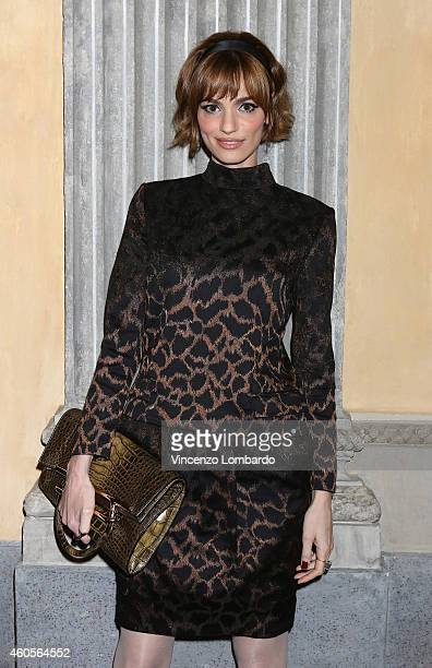 Gaia Bermani Amaral attends the Fondazione IEO CCM Christmas Dinner For on December 16 2014 in Monza Italy