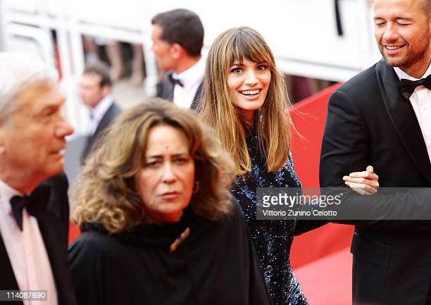 Gaia Bermani Amaral attends the Opening Ceremony at the Palais des Festivals during the 64th Cannes Film Festival on May 11 2011 in Cannes France