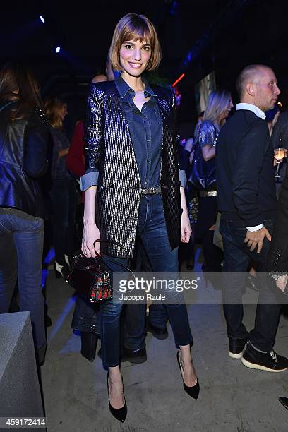 Gaia Bermani Amaral attends the Trussardi Jeans FW 15/16 event at Laboratori Ansaldo Scala on November 17 2014 in Milan Italy