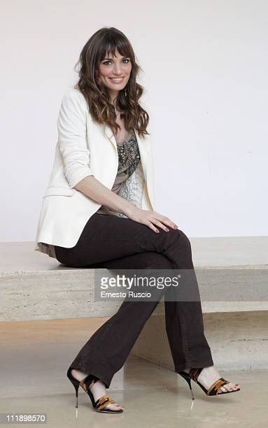 Gaia Bermani Amaral attends the 'Un Passo Dal Cielo' photocall at Auditorium Ara Pacis on April 8 2011 in Rome Italy