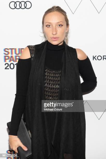 Gaia Matisse attends the Whitney Museum Celebrates The 2018 Annual Gala And Studio Party at The Whitney Museum of American Art on May 22 2018 in New...