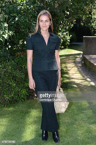 Gaia Reposi attends the Christian Dior show as part of Paris Fashion Week Haute Couture Fall/Winter 2015/2016 on July 6 2015 in Paris France