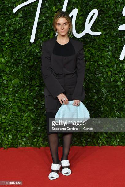Gaia Repossi arrives at The Fashion Awards 2019 held at Royal Albert Hall on December 02, 2019 in London, England.