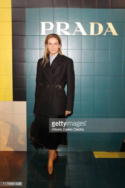 Gaia Repossi attends Prada Spring/Summer 2020 Womenswear Fashion Show on September 18, 2019 in Milan, Italy.