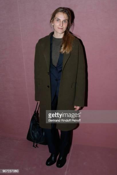 Gaia Repossi attends the Berluti Menswear Fall/Winter 20182019 show as part of Paris Fashion Week on January 19 2018 in Paris France