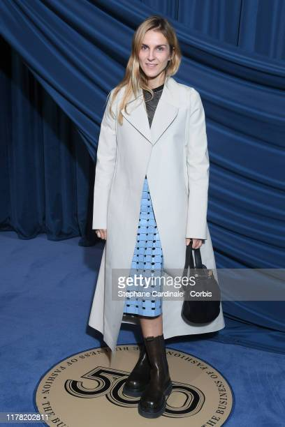 Gaia Repossi attends the #BoF500 gala during Paris Fashion Week Spring/Summer 2020 at Hotel de Ville on September 30, 2019 in Paris, France.