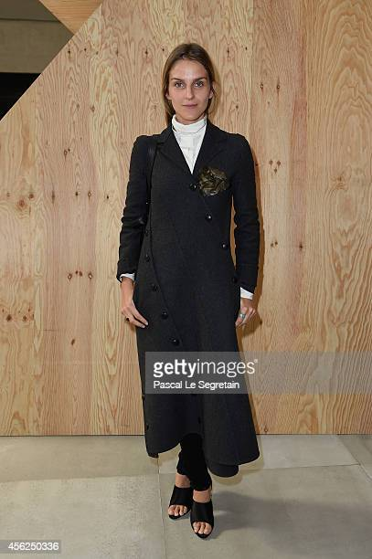Gaia Repossi attends the Celine show as part of the Paris Fashion Week Womenswear Spring/Summer 2015 on September 28, 2014 in Paris, France.