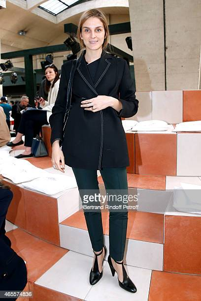 Gaia Repossi attends the Celine show as part of the Paris Fashion Week Womenswear Fall/Winter 2015/2016 on March 8 2015 in Paris France