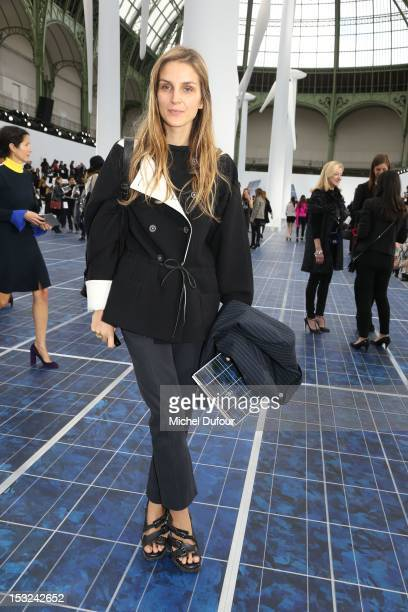 Gaia Repossi attends the Chanel Spring / Summer 2013 show as part of Paris Fashion Week at Grand Palais on October 2, 2012 in Paris, France.